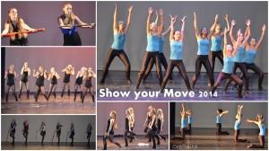 Jazz optreden bij show Your Move.